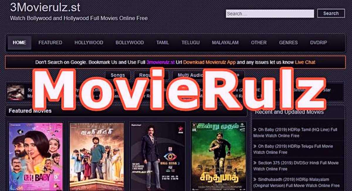 Movierulz MS , Movierulz PZ :Popular Site For Film Downloads