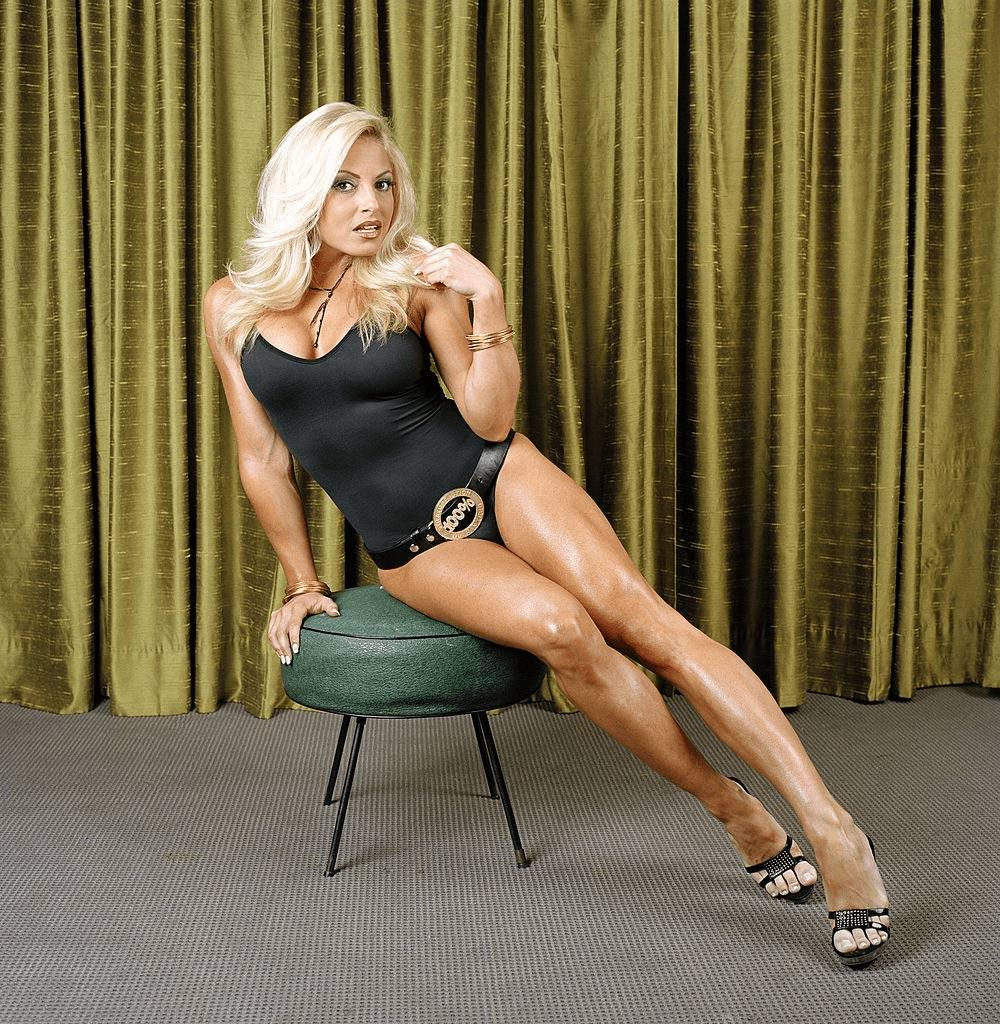 Trish Stratus the wwe female wrestlers