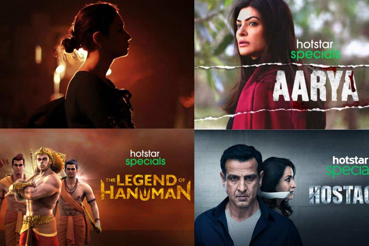 Top hotstar web series