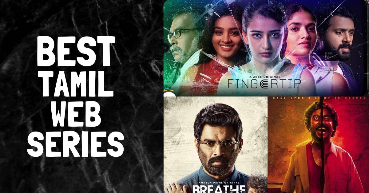 Tamil web series list