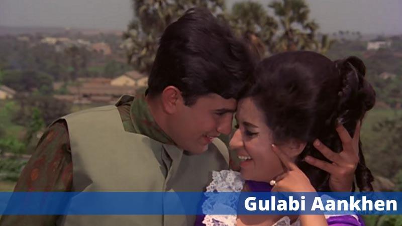 70s old hindi song Gulabi Aankhen