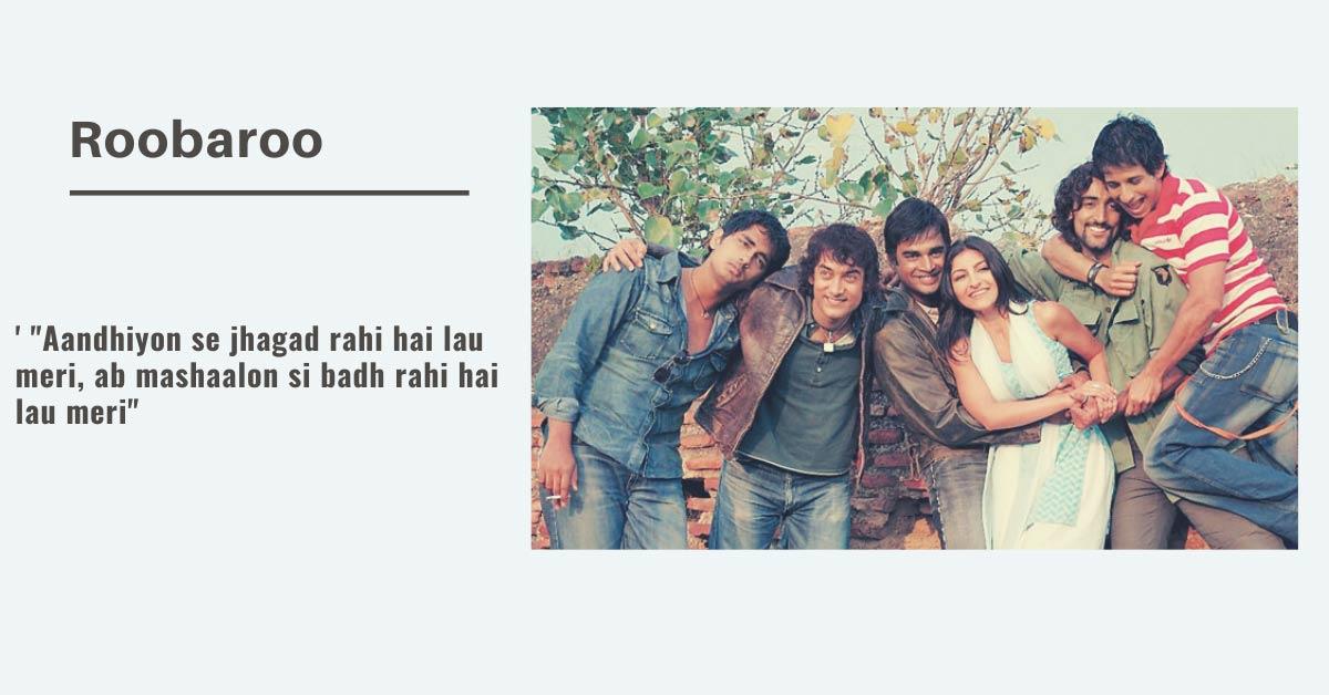 motivational hindi song Roobaroo
