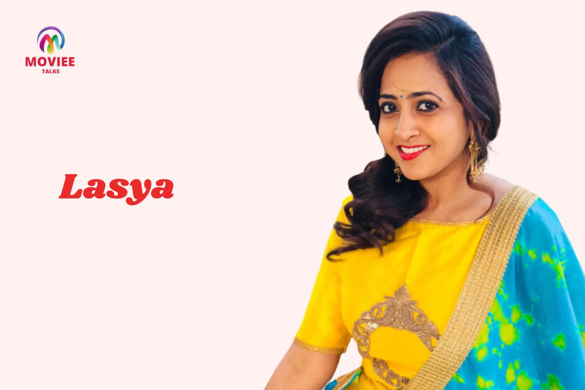 telugu anchor Lasya