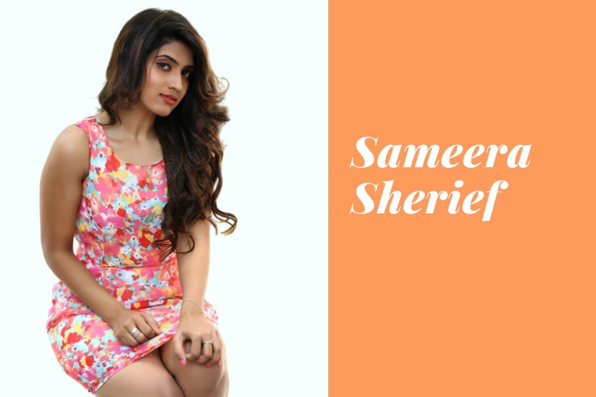 telugu tv actress Sameera Sherief