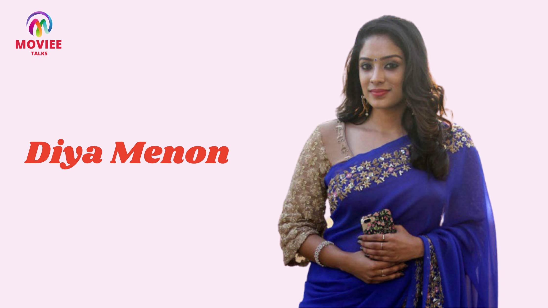 Sun TV anchor Diya Menon