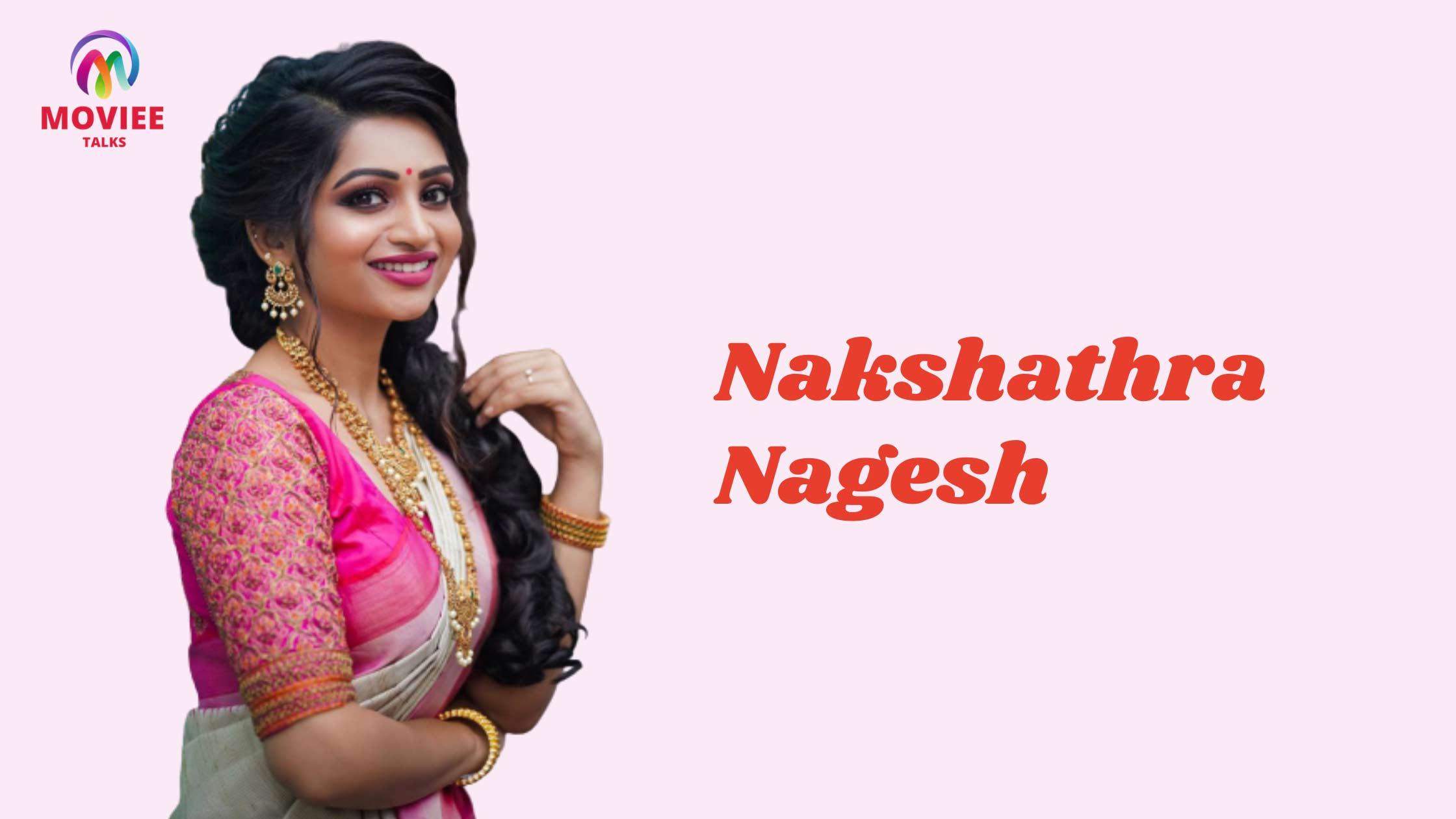 sun tv anchor Nakshathra Nagesh
