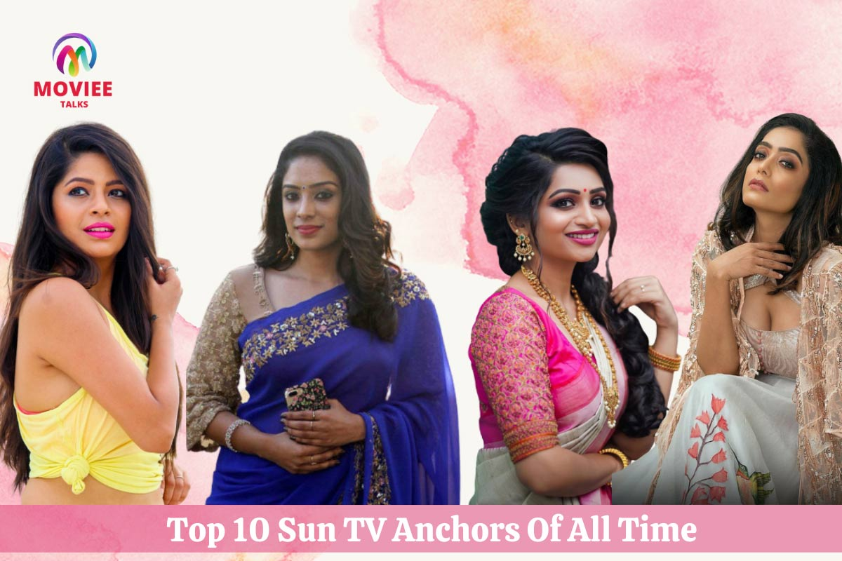 sun tv anchors list