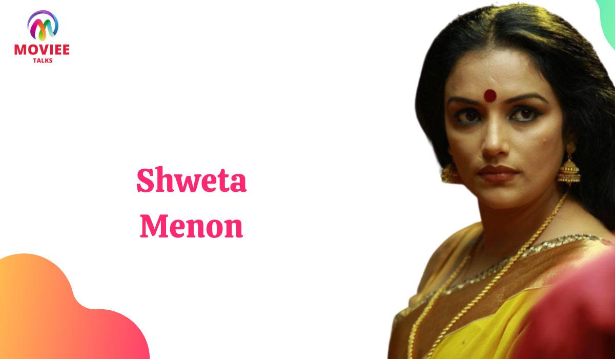 Hot actress Shweta-Menon