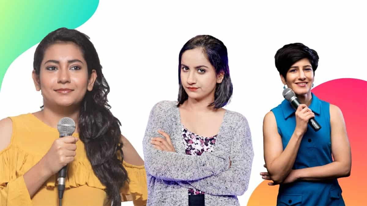 indian female stand up comedians