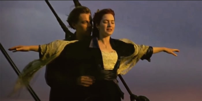 most referenced movie Titanic