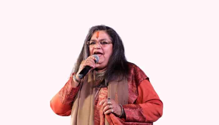 tamil female playback singer Usha Uthup