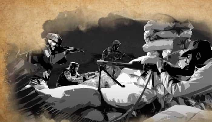 Regiment Diaries-series on indian army